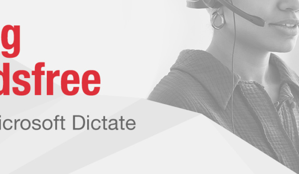 Going handsfree in Office 365 – You should  be using Dictate